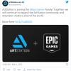 Epic完成对ArtStation的收购 市场费率从30%下调至12%