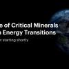 国际能源署:各国将需要更多的矿物来实现新的气候目标