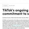 TikTok在英美正式获得ISO 27001信息安全标准认证