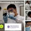 一种新型铝离子电池的充电速度比同类锂离子电池快十倍