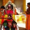 """疫情肆虐,印度寺庙已经开始供奉""""新冠病毒女神"""""""