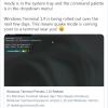 微软放出Windows Terminal 1.10版本预览:喜迎多项改进