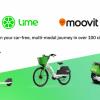 Lime宣布将旗下所以微移动工具整合至Moovit应用中