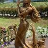 《海贼王》最新实大罗宾雕像尾田家乡揭幕 总计9座第八座
