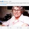 111岁迪士尼传奇动画人露丝汤普森去世:作品影响几代人 官方发文悼念